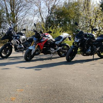 Noird location rider bmw r1250 gs adventure 2021 f900r kawazaki z650