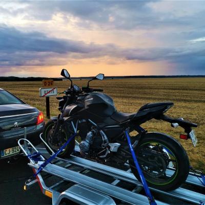Location de moto dans l oise avec l option de livraison a domicile